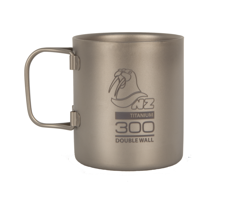 Титановая термокружка NZ Ti Double Wall Mug 300 ml TMDW300FH