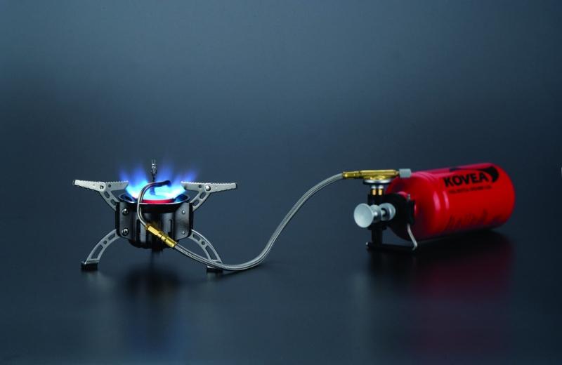 Фото 9 - Мультитопливная горелка Kovea Booster +1 KB-0603
