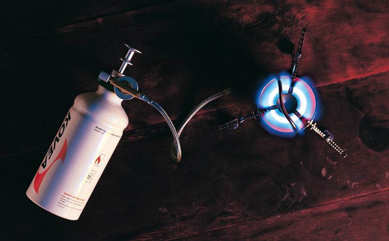 Фото 10 - Мультитопливная горелка Kovea Booster +1 KB-0603