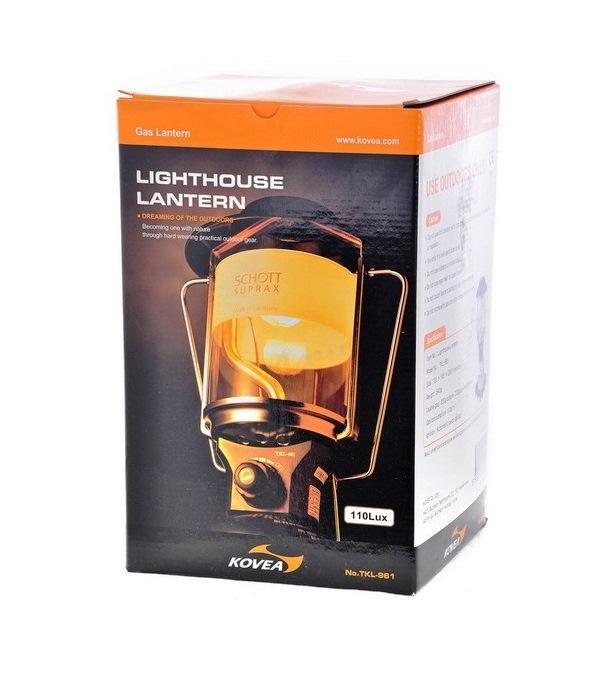 Фото 7 - Газовая лампа Kovea Lighthouse Gas Lantern TKL-961