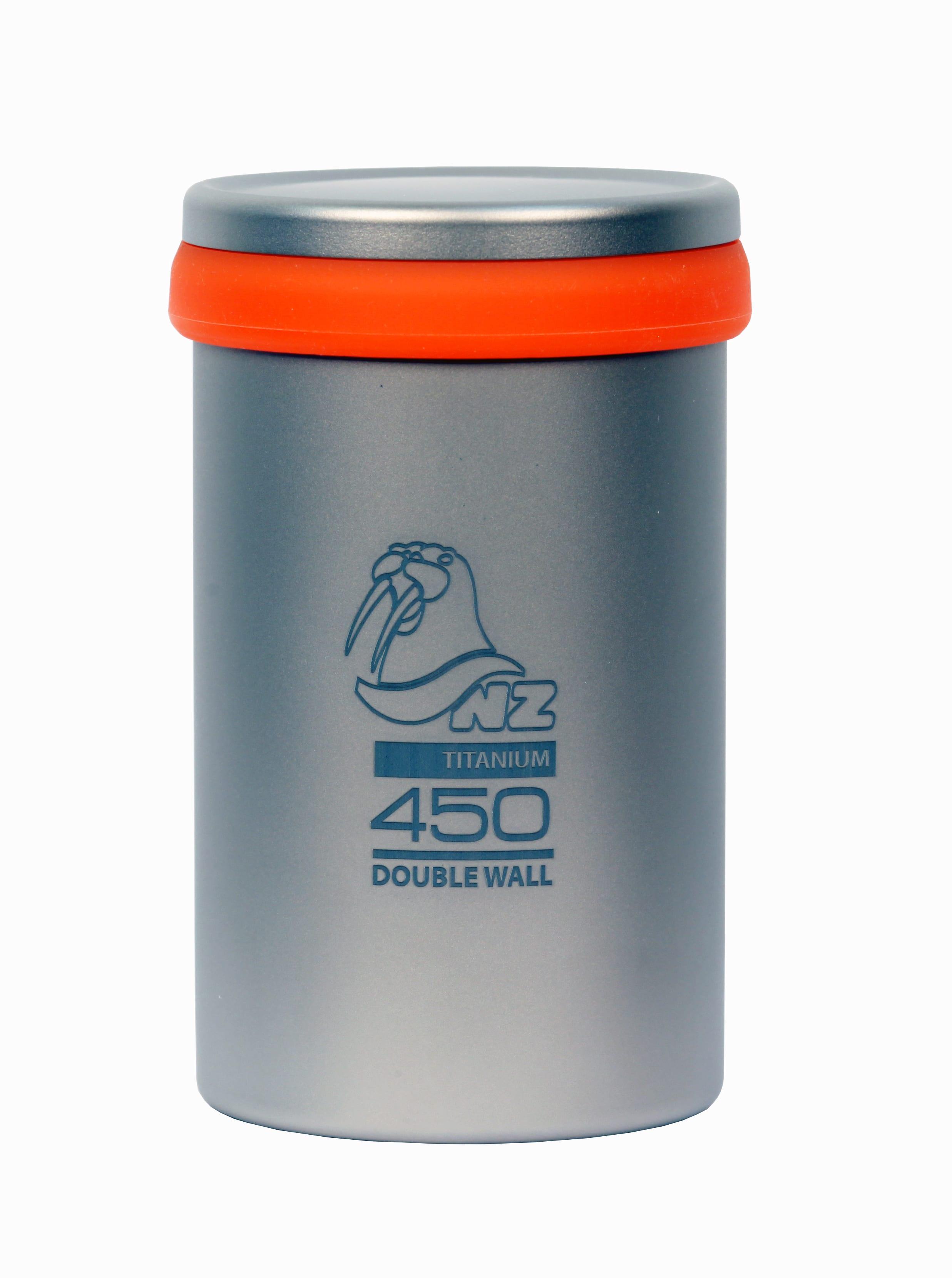 Термостакан 450 мл с крышкой и ситечком NZ Ti Tea Cup 450 ml TTC-450DW
