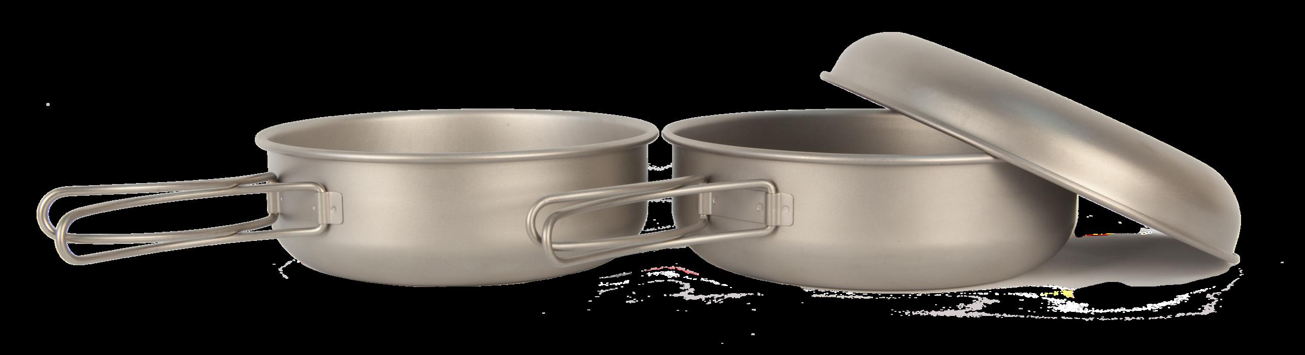 Набор пиал с крышкой NZ Ti Bowl Set S TBS-500
