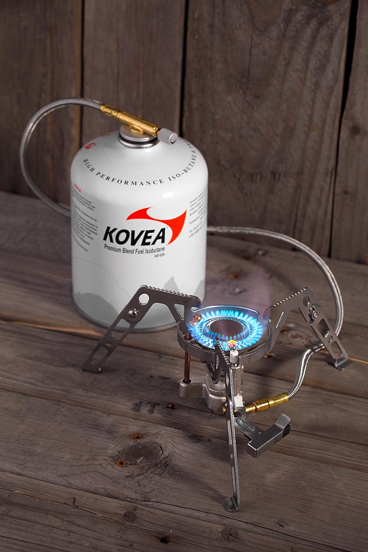 Фото 5 - Газовая горелка Kovea Moonwalker Stove Camp-4 KB-0211G-L