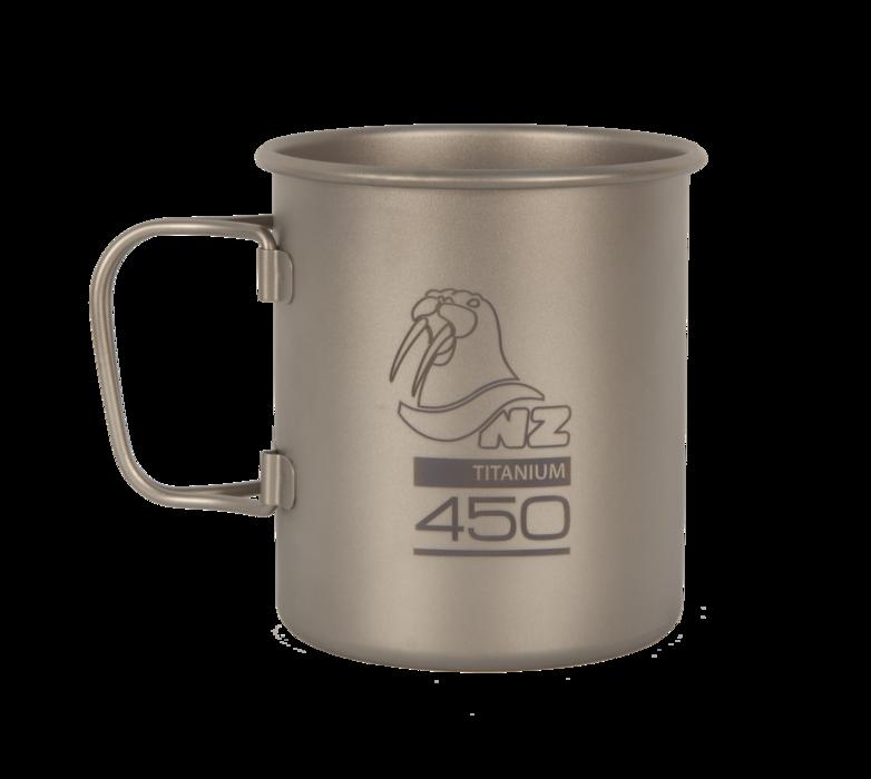Фото - Титановая кружка NZ Ti Cup 450 ml TM-450FH TM-450FH