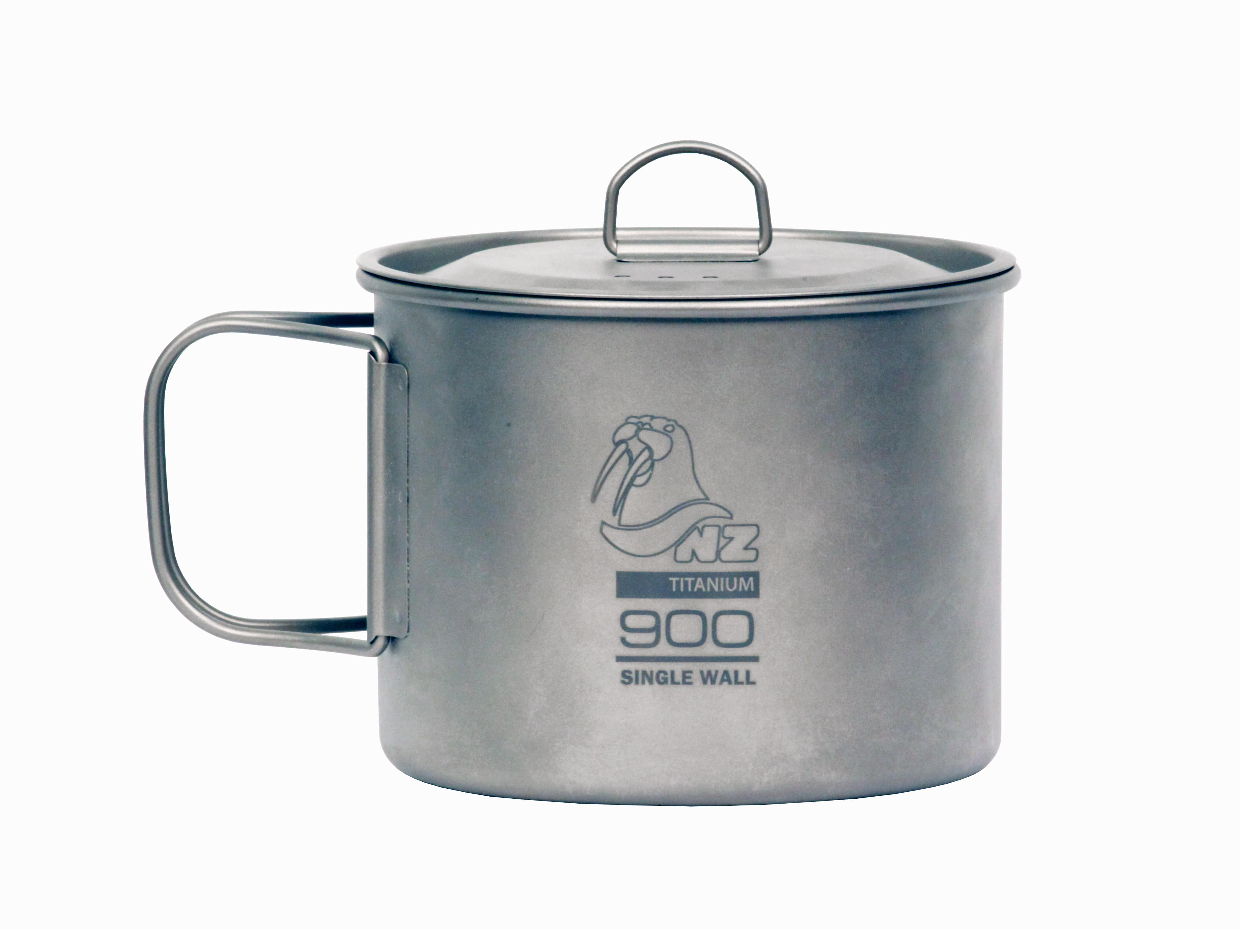 Кастрюля 900 мл с крышкой NZ Ti Cup 900 ml TM-900WL