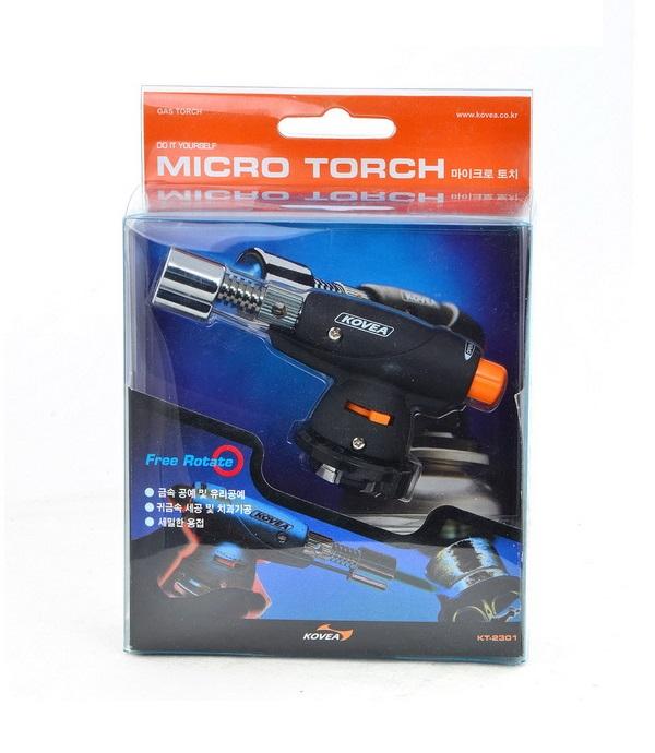 Фото 3 - Газовый паяльник Kovea Micro Torch KT-2301