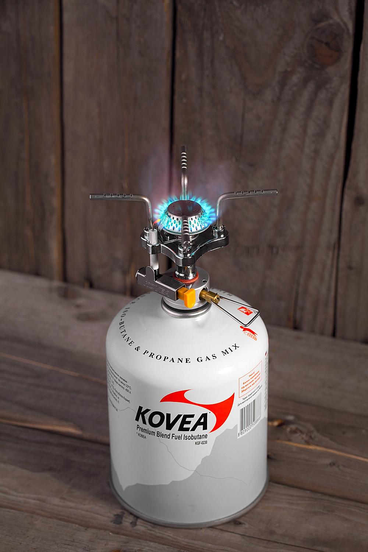 Фото 9 - Газовая горелка Kovea Solo Stove KB-0409