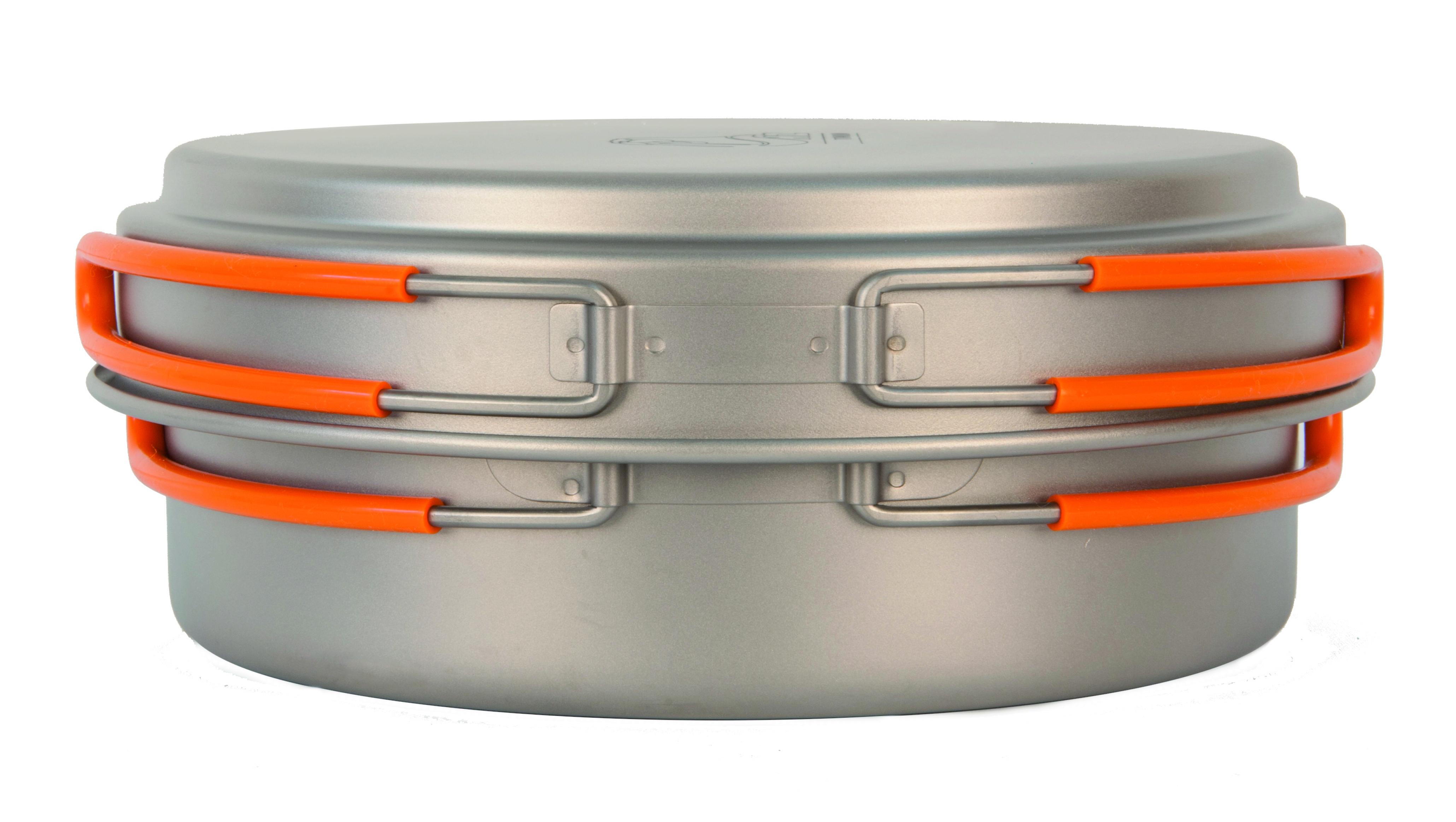 Кастрюля с крышкой NZ Ti Cookware 1250 ml TS-017