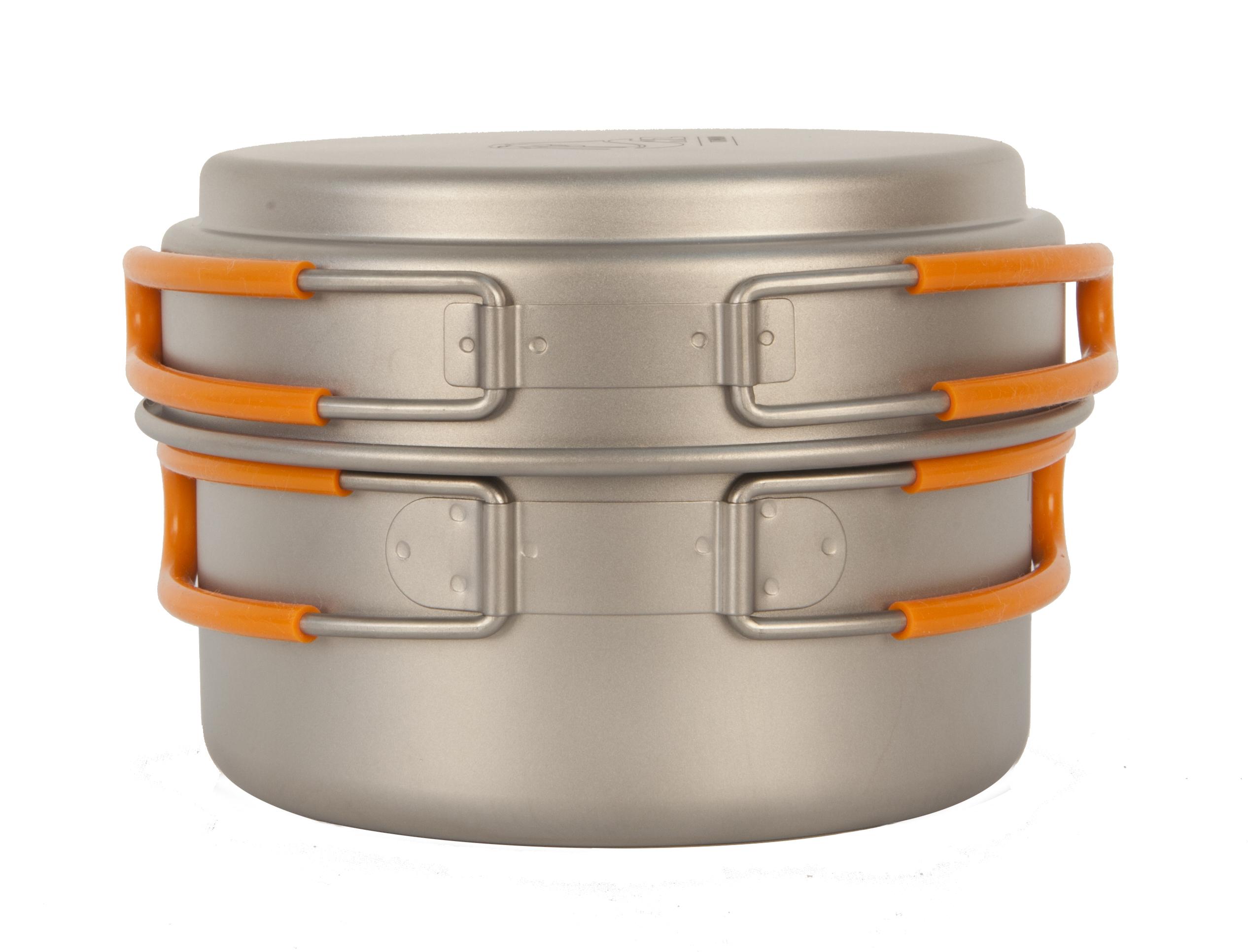 Кастрюля с крышкой 800 мл NZ Ti Cookware 800 ml TS-012
