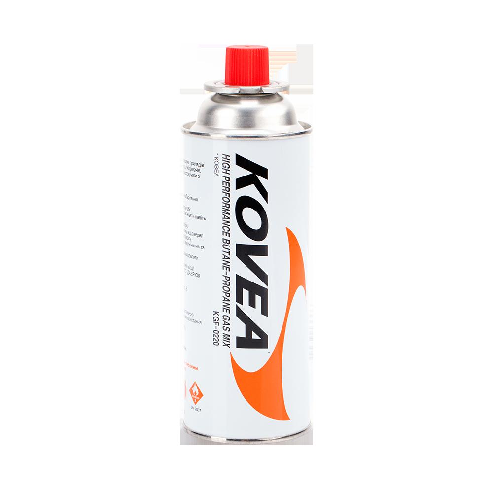Фото 2 - Цанговый газовый баллон 220 гр. Kovea Nozzle type gas 220 g KGF-220