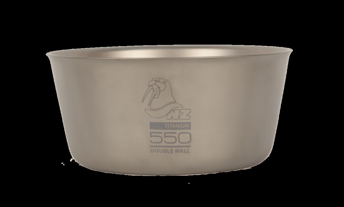 Двустенная пиала NZ Ti Double Wall Bowl 550 ml TBDW-550