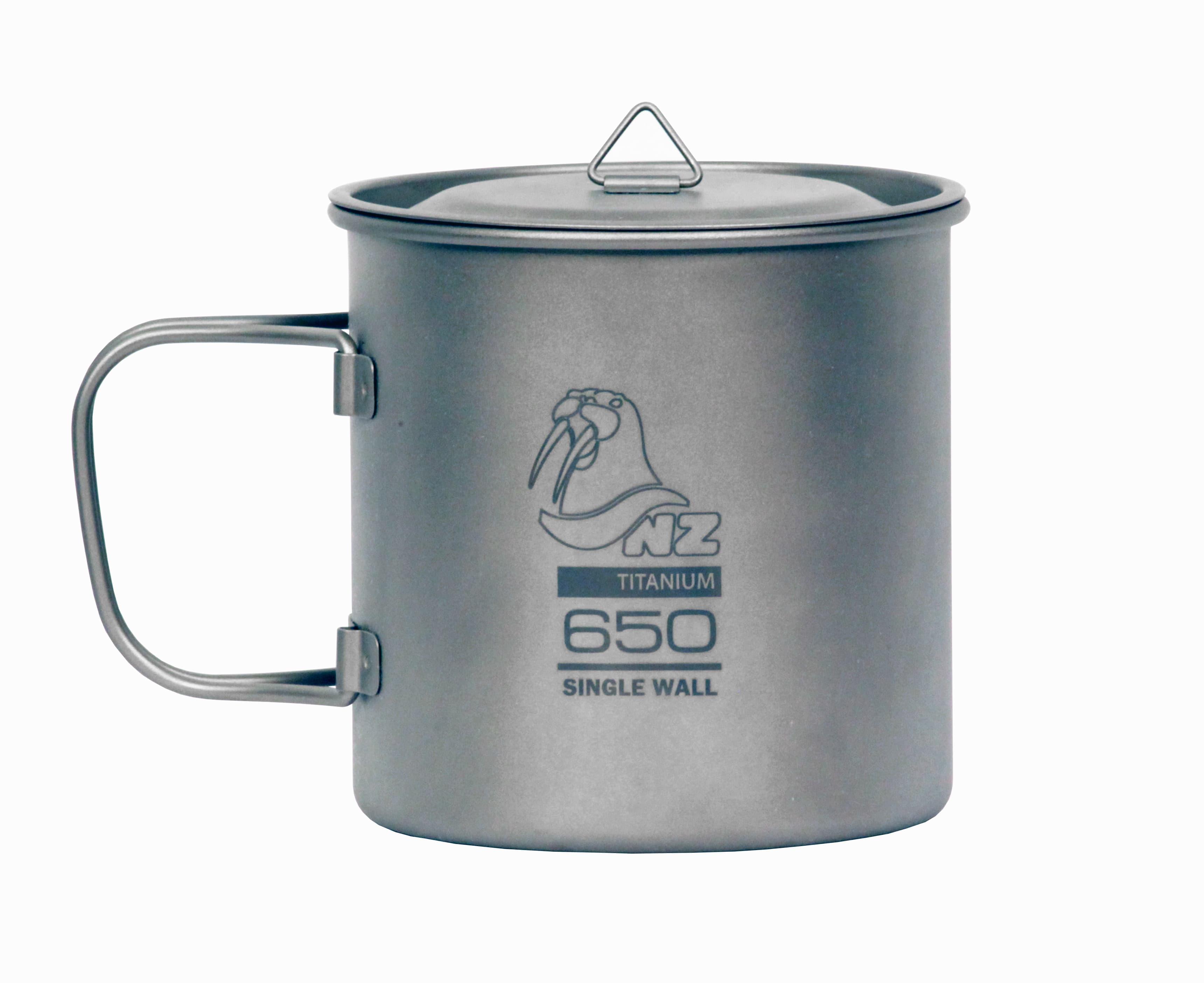 Кастрюля 650 мл с крышкой NZ Ti Cup 650 ml TM-650WL