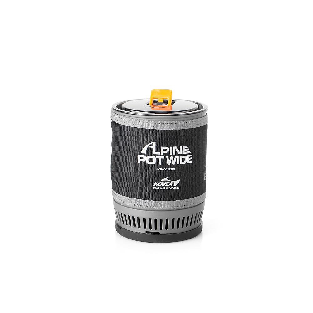 Фото 4 - Газовая горелка Kovea Alpine Pot Wide KB-0703W