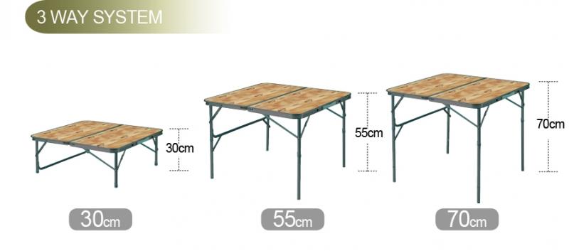 Фото 2 - Стол складной Kovea TITAN SLIM 2 FOLDING TABLE KN8FN0107