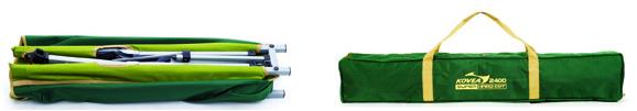 Фото 2 - Раскладушка/кровать Kovea LOW SUPER HARD COT 2400 KM8CH0203