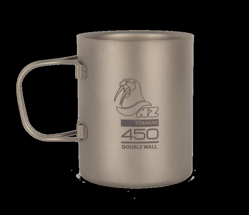 Купить Титановая термокружка NZ Ti Double Wall Mug 450 ml TMDW450FH в России