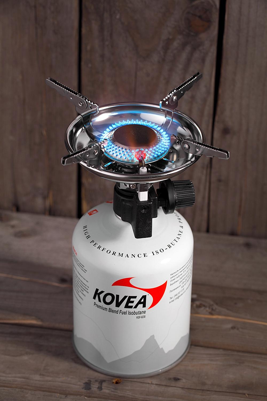 Фото 9 - Газовая горелка Kovea Scout Stove TKB-8911-1