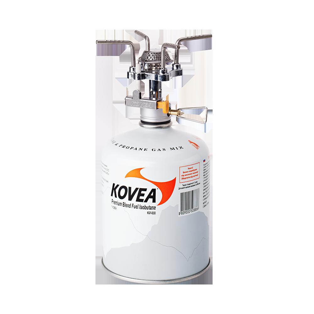 Фото 10 - Газовая горелка Kovea Solo Stove KB-0409