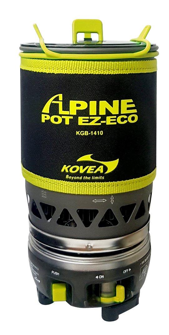Газовая горелка Kovea Alpine Pot EZ-ECO фото
