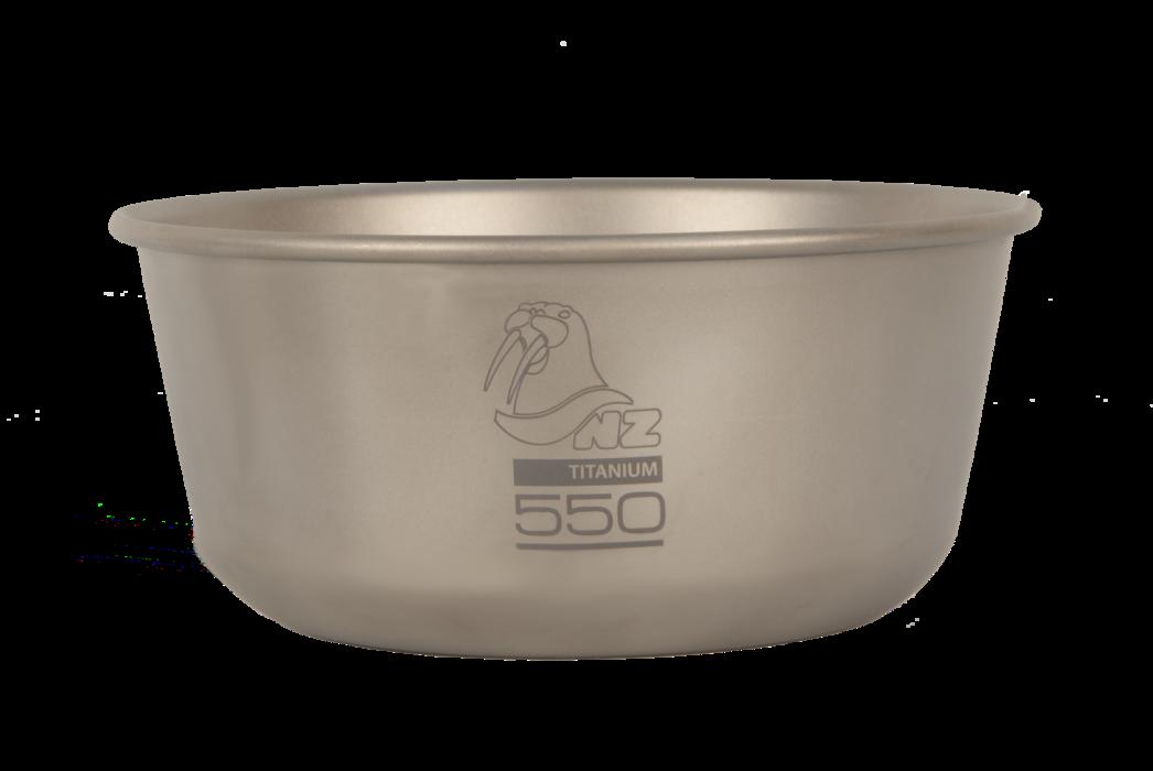 Титановая пиала NZ Ti Bowl 550 ml TB-550