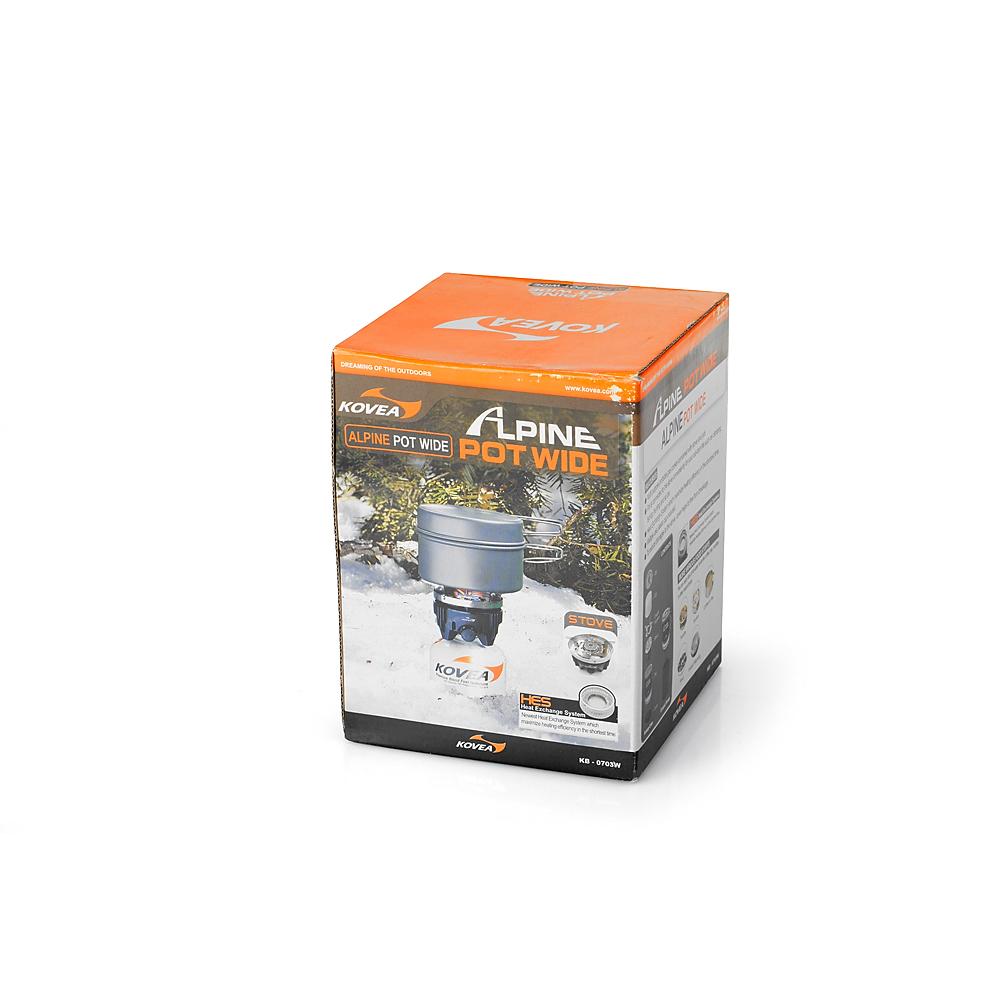 Фото 2 - Газовая горелка Kovea Alpine Pot Wide KB-0703W