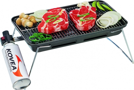 Газовый гриль Kovea Slim Gas Barbecue Grill TKG-9608T фото
