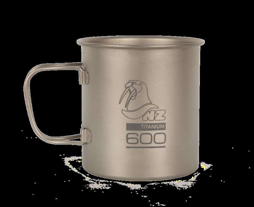 Титановая кружка NZ Ti Cup 600 ml фото